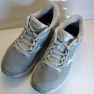 Mizuno Wave Sky Waveknit Sky Women's Size 9 Comfort Cushioned Shoes grey
