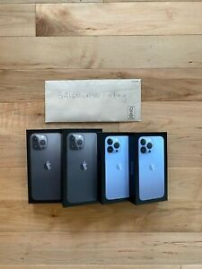 Apple iPhone 13 Pro / Pro Max Unlocked Ships TODAY A2636 A2641
