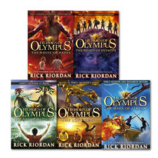 Heroes of Olympus Series Children 5 Books Collection Set By Rick Riordan, New