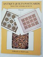 24 READY-TO-MAIL Full Color Museum Quality Antique American Quilt Postcards   A6