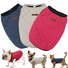 Dog Clothes Warm Coat Pet Clothes French Bulldog Chihuahua Puppy Winter Clothing