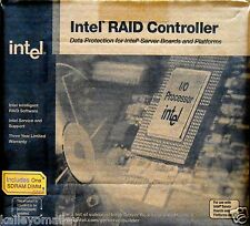 Intel BOXSRCU31A SCSI RAID 64 BIT PCI 64MB U160 1CH Controller New Retail Box