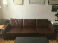 Dänisches Design - Leder Sofa gebraucht -