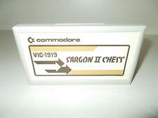 Commodore (C20) - VIC-1919 - Game - Sargon II Chess - Cartridge, #K-5-4