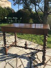 BELLE TABLE BUREAU ANCIENNE LOUIS XIII 19éme 100X70X60