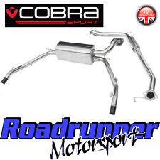 """HN16 Cobra Sport Honda Civic Type R FN2 System 2.5"""" Stainless Cat Back Resonated"""