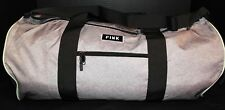 Victoria's Secret PINK Weekender Duffle Bag *N w/o T* Zip Top *Grey/Black/Green*