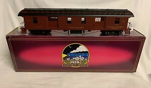 ✅MTH PREMIER LONG ISLAND RAILROAD 64' WOODSIDED PASSENGER CAR! O SCALE TRAIN