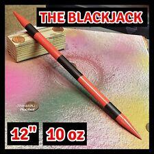 """""""THE BLACKJACK"""" BLACK STEEL NINJA DOUBLE SPEAR TIP THROWING TORPEDO SPIKE"""