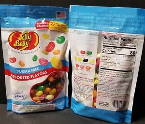 Jelly Belly Sugar-Free Gourmet Jelly Beans - Assorted Flavors - 8.25 oz (1bag)