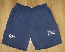 """SALE SHARKS RUGBY-Player Issued-NEW UNWORN-Casual Shorts-Embroidered-32""""Waist"""