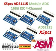 5pcs ADS1115 Modulo ADC 16Bit I2C 4-Channel ANNUNCI 1115 with Gain Amplifier