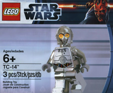 Lego TC-14 Protocol Droid Chrome Silver Polybag Star Wars Minifigure New Sealed