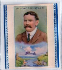 #5 Mono Rail - Mr. Louis Brenn - Scientific Inventions and Discoveries 1929 Card