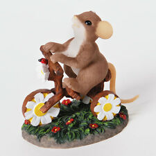 Charming Tails Petal-ing My Way To You Mouse Figure Spring 4025767 New Nib
