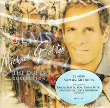 CD Michael Bolton-GEMS-Duets Coll. NUOVO Helene Fischer Delta Goodrem Cassidy