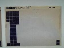 Yamaha PW 50_1994 microfilm Microfich Catalogue des pièces pièce rechange liste