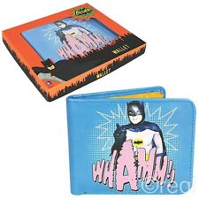 New DC Classic Series Batman WHAMM! Wallet Adam West Retro 1966 Official