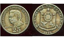 PHILIPPINES  25  sentimos 1971