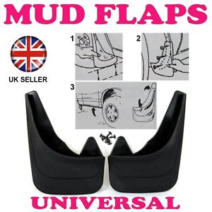 1R FOR FORD TRANSIT CONNECT 2002-13 FRONT SURUBBER MOULDED MUDFLAPS MUD FLAPS