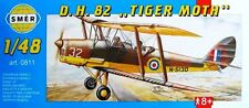 DH 82 TIGER MOTH / Sk.11  (RAF & SWEDISH AF MARKINGS) 1/48 SMER
