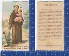 Sant'Antonio di Padova - L'Elemosina cambiata in pane dei Poveri - 1918 - 28160