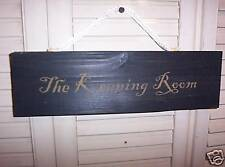 """WHOLESALE wood sign primitive  """"The Keeping Room"""""""