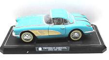Solido 1958 Chevrolet Corvette Hard-Top 1:12 Die-Cast Metal w/Plastic Parts+Box