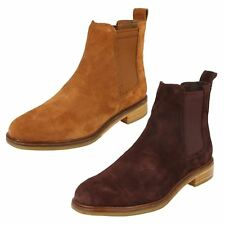 Clarks Clarkdale Arlo Suede Leather Chelsea Boot