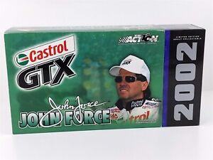 Action John Force CASTROL GTX MUSTANG FUNNY CAR NHRA 1:24 Diecast 2002 NIB
