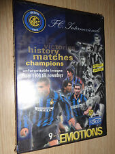 DVD INTER ONE CENTURY OF EMOTIONS HISTORY ITALIANO-ENGLISH OFFICIAL FC SEALED