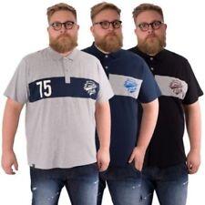 Camisetas de hombre LA color principal azul 100% algodón