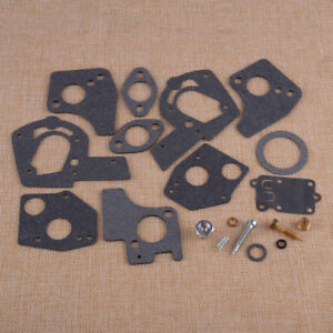Fit For Briggs & Stratton 495606 3-5HP Engine Carburetor Overhaul Rebuild Kit ht