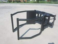 Extreme Round Hay Bale Squeezer/Grapple for Skid Steer/Tractor Loader