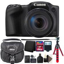 Canon PowerShot SX420 IS HD Wi-Fi 20MP Digital Camera 64GB Accessory Kit Black