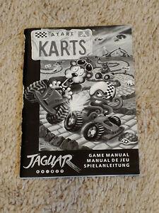 Atari Karts GAME MANUAL ONLY for Atari Jaguar