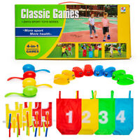 4-1 Kids Outdoor Game Toy Family Lawn Game Yard Activities Kid Adults Family Fun