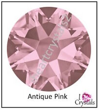 ANTIQUE PINK Swarovski 5mm 20ss 72 pieces Crystal Flatback Rhinestones 2058