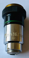 Zeiss Microscope Objective PLAN 16X/0.32  160mm