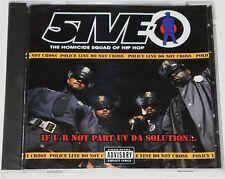 "5IVE-O CD SEALED WRAP Records 1994 Rap Random G-Funk lp 12"" nwa dr dre"