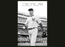 Derek Jeter CLASSIC HERO New York Yankees Vintage 2012 Original MLB POSTER