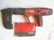 Hilti Dx 460 Powder Actuated Fastener Fastening Tool Gun With Mx 72 Magazine