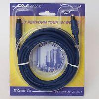 (New) AV Link Optical Digital Cable,TTP414 - 16 ft