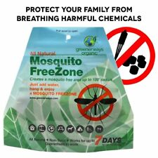 Greenerways Organic Mosquito Repellent Zone - Non-Toxic Organic Insect Repellen