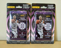 2 x 2019-20 PANINI ILLUSIONS BASKETBALL BLISTER PACKS (4 PACKS) ZION JA MORANT?