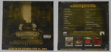 Skatterman & Snug Brim - Urban Legendz  sealed 2003 U.S. promo cd  Card cover