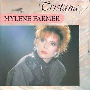 """Mylene Farmer  7"""" Vinyl Single  TRISTANA  ©  1987"""