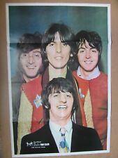 THE BEATLES ORIGINAL 1968 U.K. FAN CLUB POSTER