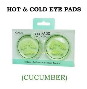 CALA Eye Pads, HOT & COLD EYE PADS (CUCUMBER) Microwavable & Freezable