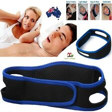 Anti Snore Chin Strap Snore Stopper Belt Anti Apnea Jaw Solution Sleep Support